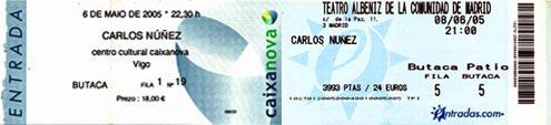 Entarda - Concierto Carlos Núñez
