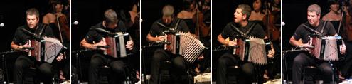 Kepa Junkera en concierto con la Joven Orquesta de Madrid