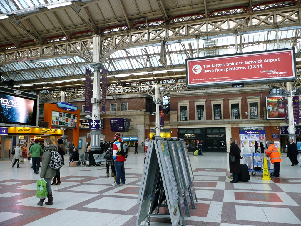 Victoria Station, Londres. 2010