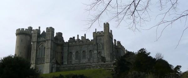 Castillo de Arundel. Vista desde el río Arun