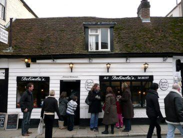 Belinda's un pub del siglo XVI en Arundel. Qué rico estaba el thea!