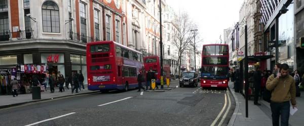 Oxford Street y el 'relajado' tráfico