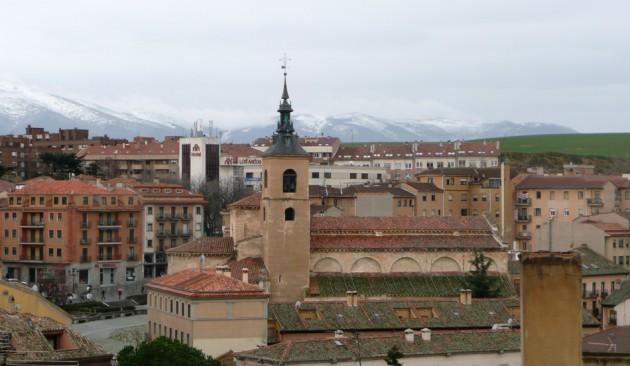 Vista de Segovia el día de San José. 19 Marzo de 2010