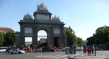 El antes, nada más llegar a Puerta Toledo
