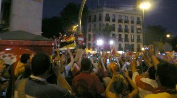 Por fin aparecen en Puerta de Toledo!