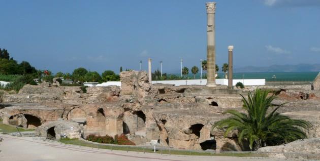 Termas de Antonino en Cartago