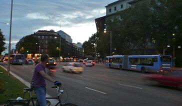 Semáforo en Atocha