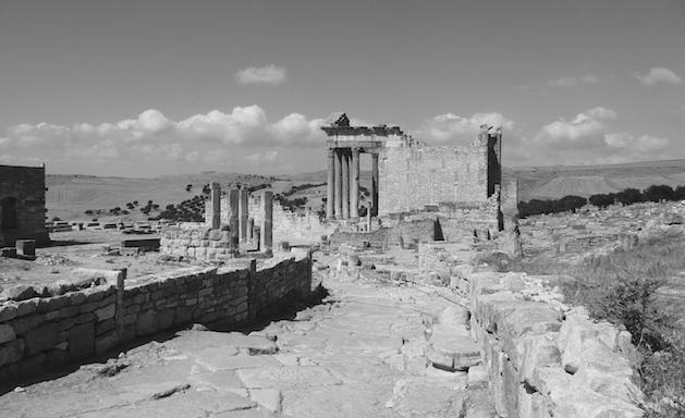 Ruinas romanas de Dougga