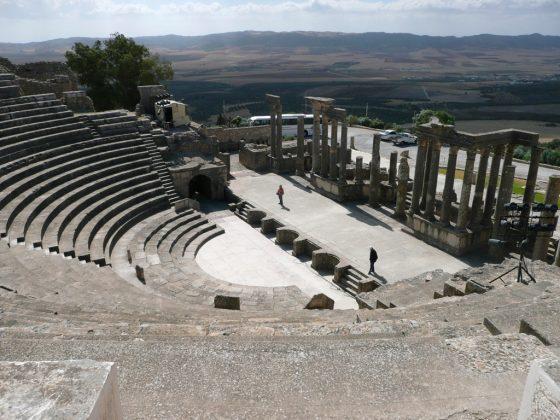 Teatro romano de Dougga