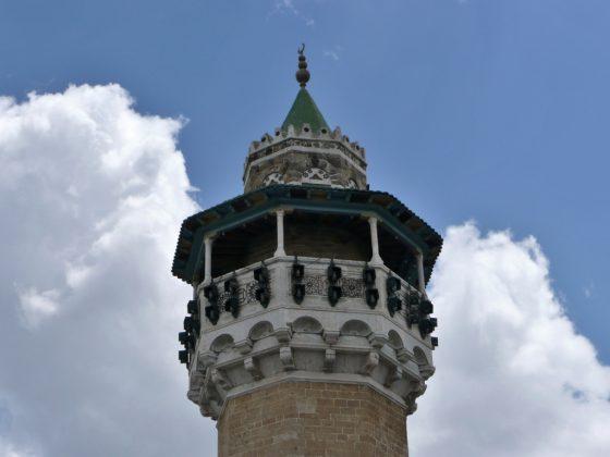 Minarete en Túnez