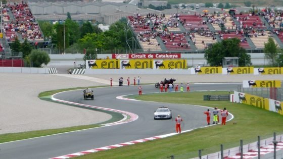 Desfile de pilotos F1