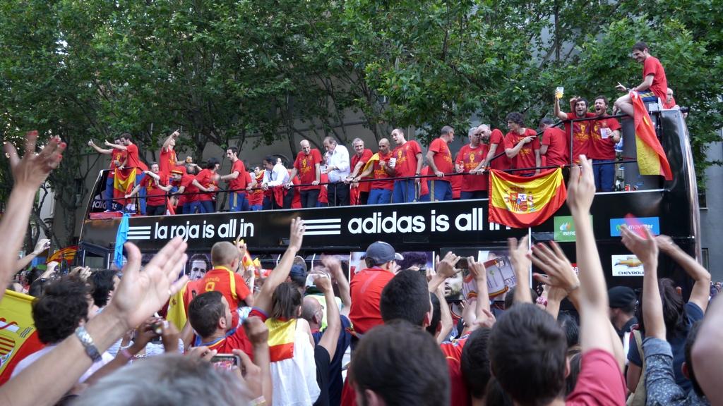 Campeones de Europa 2012