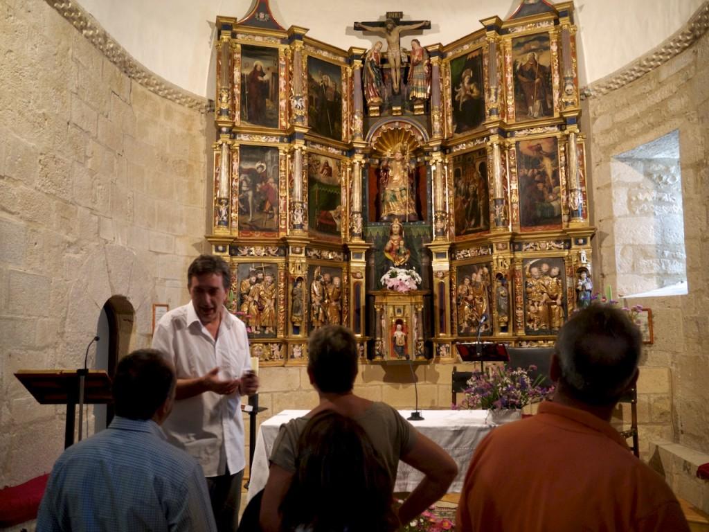Retablo de San Martín de Tours