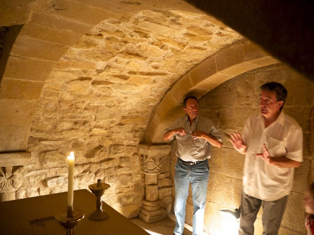 Cripta de San Martín de Tours