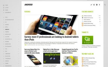 Feedly en el navegador