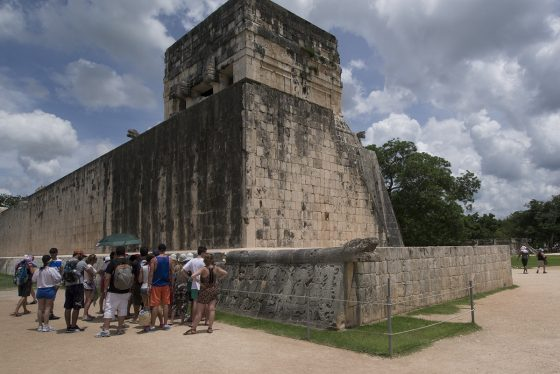 Chichén Itzá, juego de pelota