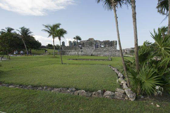 Tulum, vista desde la explanada