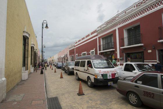 Valladolid, tráfico antes de la tormenta
