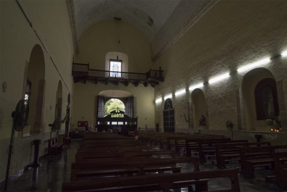 Valladolid, interior de la iglesia