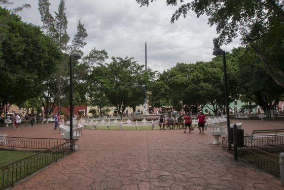 Plaza del centro de Valladolid