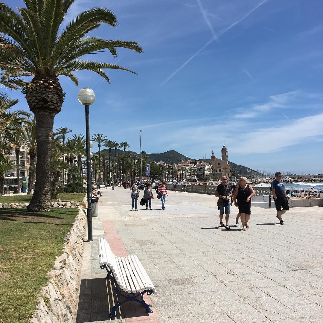 Mediterráneo, sol en Sitges