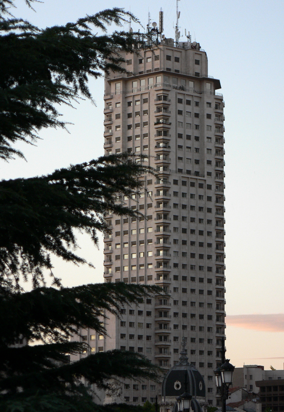 Torre Madrid. 2006